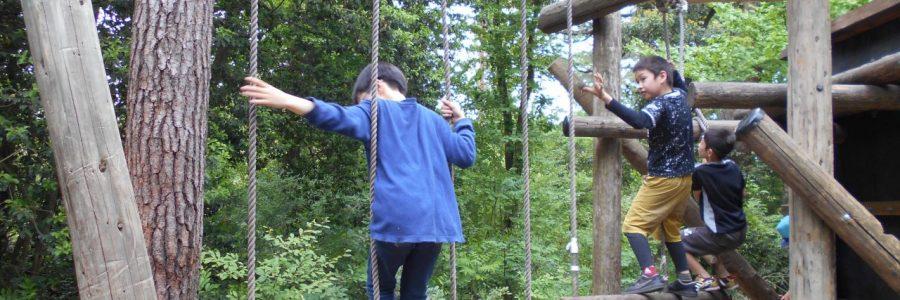森の国 フィールドアスレチックに行ってきました!